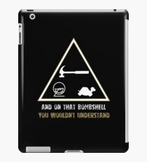 Exclusive Hamster, Jezza, and Captain Slow T Shirt iPad Case/Skin