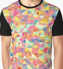 Polygonal abstract print Graphic T-Shirt