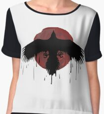 LIS-Before the Storm / Chloe Price ink Raven t-shirt Women's Chiffon Top
