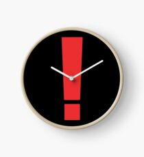 Metal Gear Solid - Exclamation Point! Clock