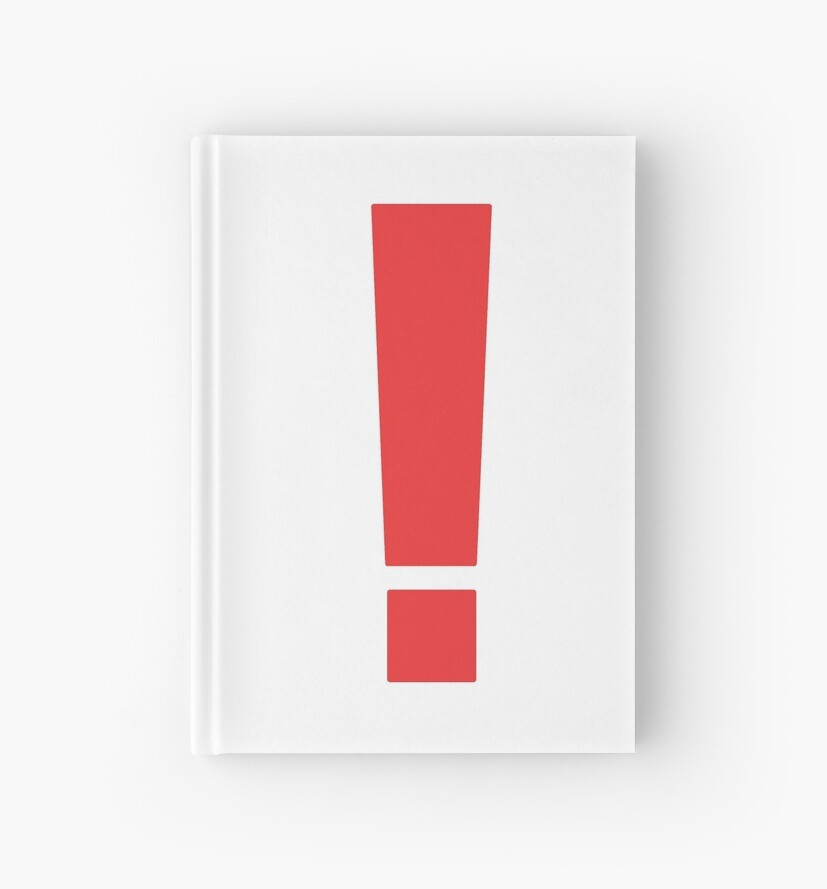 Metal Gear Solid Exclamation Point Hardcover Journals By