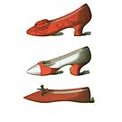 Red Shoes by Zehda