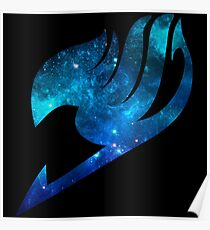 Fairy Tail Space Guildmark Poster