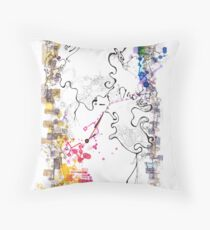 D-branes (view large) Throw Pillow