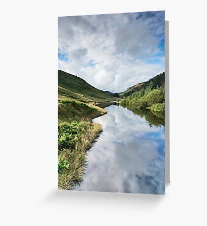 Llyn Brianne Reservoir 3 Wales Greeting Card