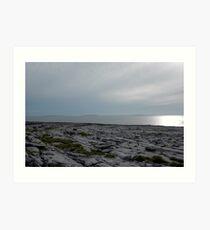 The Burren Art Print