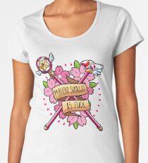 Mahou Shoujo AF Women's Premium T-Shirt