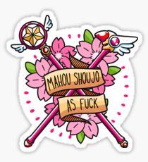 Mahou Shoujo AF Sticker