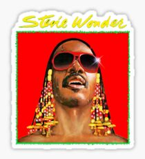 Legend Of Stevie Wonder Sticker