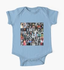 David Bowie Collage Kids Clothes