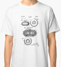 Curling Stone Patent Print, Curling Stone Patent, Sports Art, Sports Wall Art, Patent Poster, Patent Print, Blueprint Classic T-Shirt