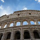 The Colosseum Rome by Ann Garrett