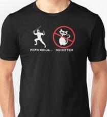 Final Cut Pro Ninja - No Kitten T-Shirt