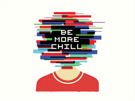 Image result for be more chill logo