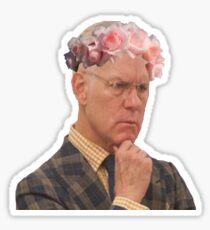 tim flowers Sticker