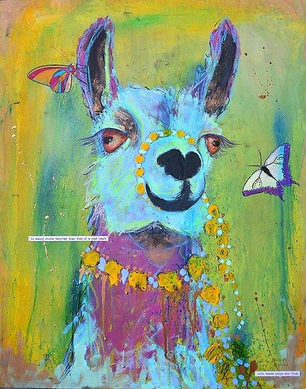 Llama for Hannah by Thebohohouseart