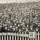 Brighton and Hove Albion V Cardiff 1900's by Heather Buckley
