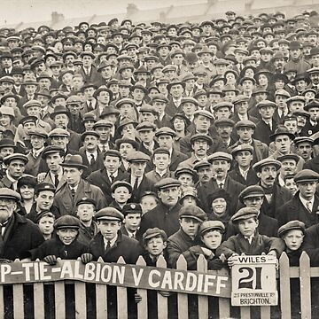 Brighton and Hove Albion V Cardiff 1900's by heatherbuckley