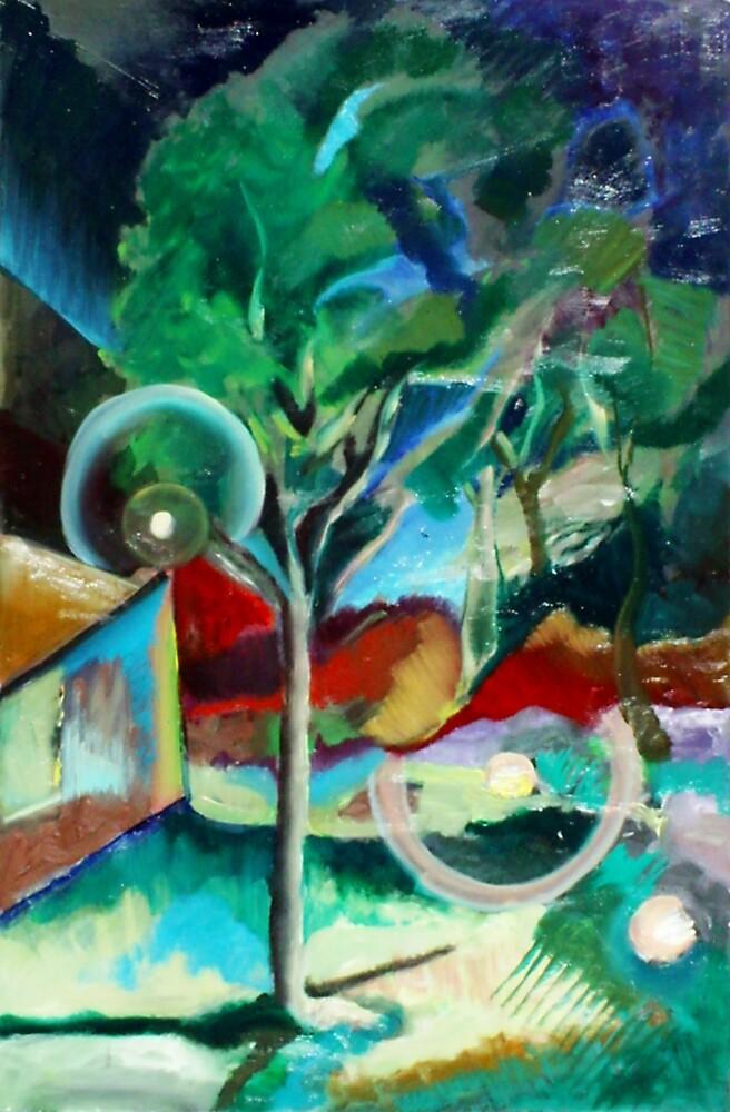Rhythms of the Night (Oils)- by Robert Dye