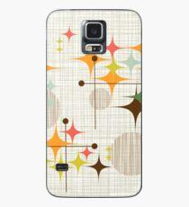 Eames Era Starbursts and Globes 3 (bkgrnd) Case/Skin for Samsung Galaxy