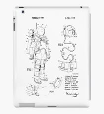Apollo Space Suit Patent iPad Case/Skin