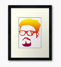 Funny - Face - Funny Face Framed Print