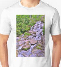 Glenn Falls North Carolina Mountains Unisex T-Shirt