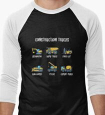 Construction Site Trucks with Names T-Shirt