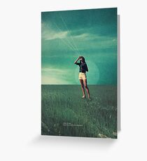 Loved the way You once looked upon Tomorrow Greeting Card