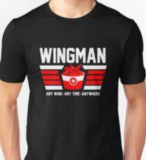 Wingman buffalo chicken wing lover Unisex T-Shirt