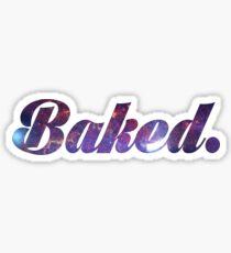 Baked Galaxy Sticker