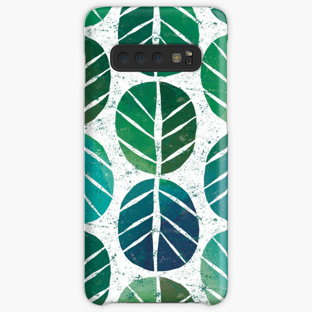 i love Green Leaf Case & Skin for Samsung Galaxy