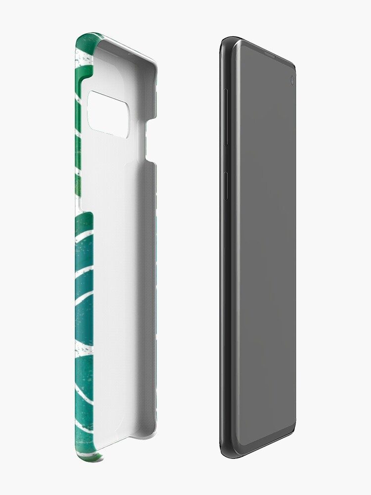 Alternate view of i love Green Leaf Case & Skin for Samsung Galaxy