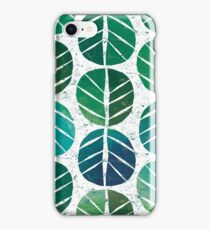 i love Green Leaf iPhone Case/Skin