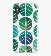 i love Green Leaf iPhone Case/Skin