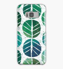 i love Green Leaf Samsung Galaxy Case/Skin