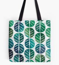 i love Green Leaf Tote Bag