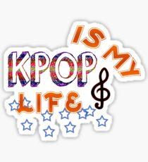 Kpop ist mein Leben Sticker