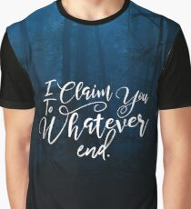 Throne of Glass, To Whatever End, Rowaelin, Heir of Fire Graphic T-Shirt