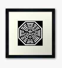 Maze Dharma Framed Print