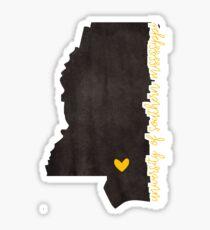University of Southern Mississippi Sticker