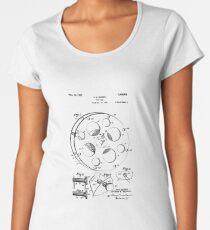 FILM REEL Patent Poster Women's Premium T-Shirt