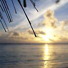 Rarotonga sunset by Noma Ellimah