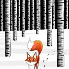 Fox by Andrew  Hitchen
