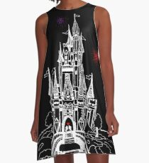 Mouse in Love at Midnight A-Line Dress