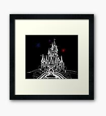 Mouse in Love at Midnight Framed Print