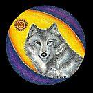 Shaman Healing Wolf by FedericoArts