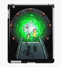 Stargate Rick and Morty iPad Case/Skin