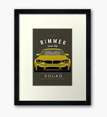 Bimmer Squad Framed Print