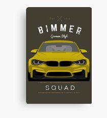 Bimmer Squad Canvas Print